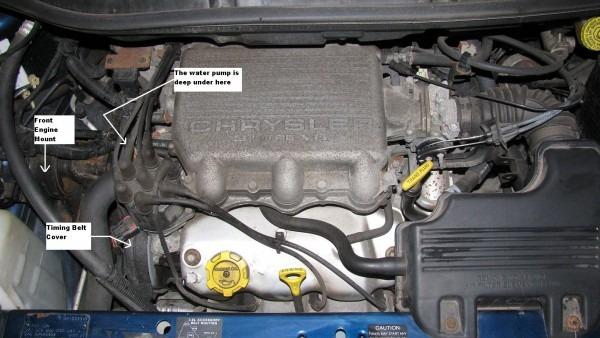 The Original Mechanic  3 0 L Engine (chrysler)  Replace Water Pump