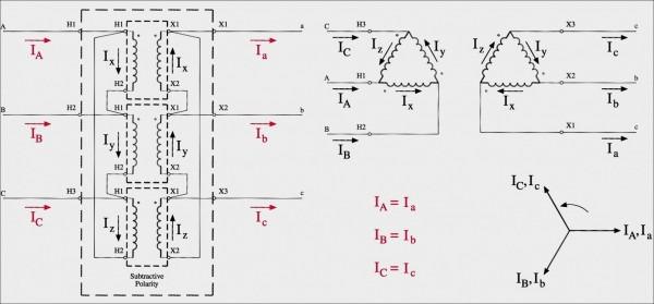 Distribution Transformer Bank Wiring Diagram