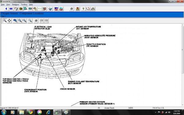 2009 Acura Mdx Parts