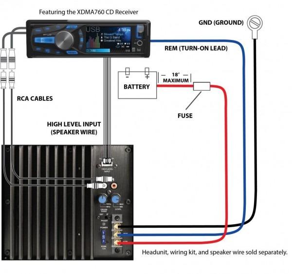 Audio Capacitor Schematic
