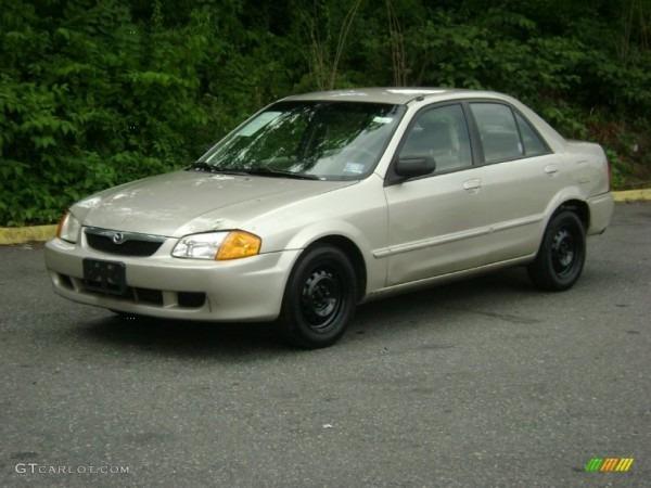 1999 Sand Mica Mazda Protege Lx  51425306