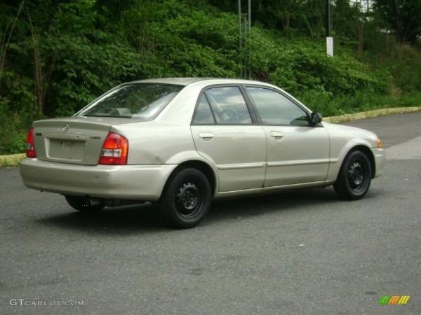 1999 Sand Mica Mazda Protege Lx  51425306 Photo  6