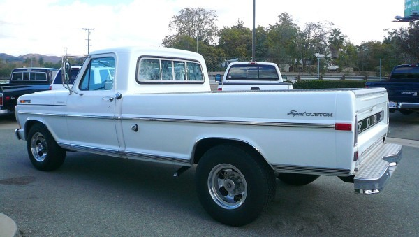 1971 Ford F250 Long Bed Camper Special