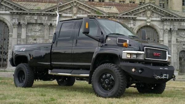 2007 Gmc Topkick 4x4 Transformer Ironhide Pickup  Transforming Our