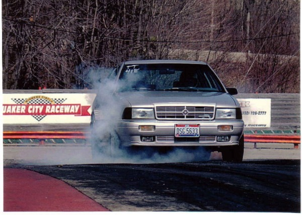 1989 Dodge Spirit Es Turbo 1 4 Mile Drag Racing Timeslip Specs 0
