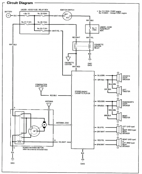 Wiring Diagram Honda Element