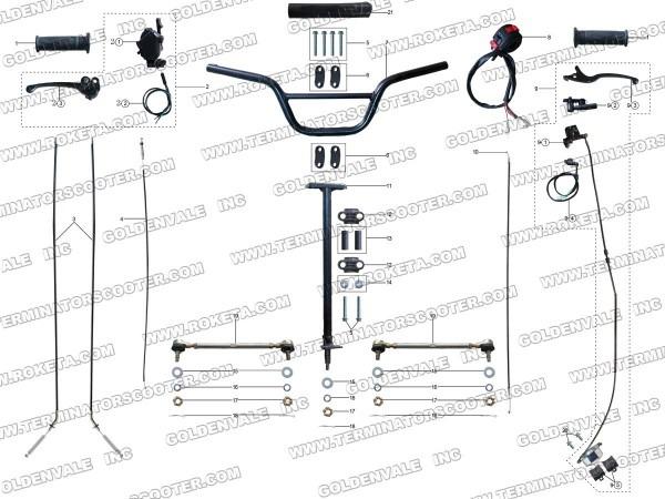 50cc Moped Wiring Diagram