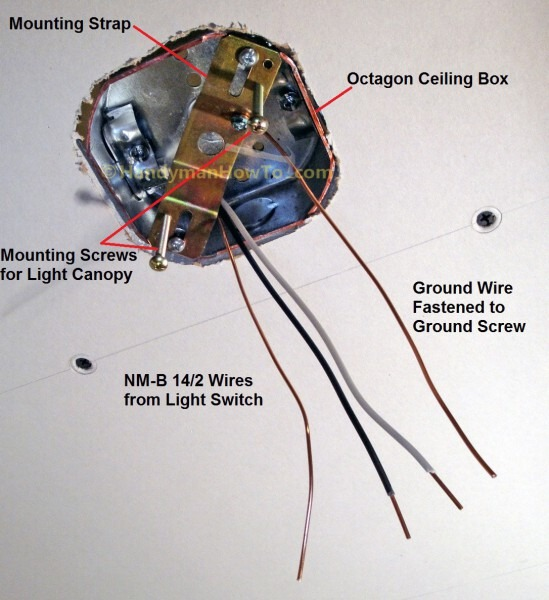 Wiring A Ceiling Lamp