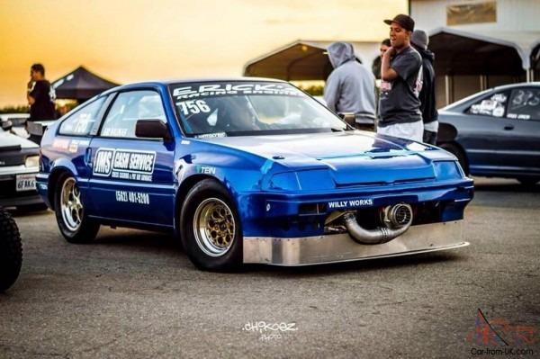 1984 Honda Crx Race Car