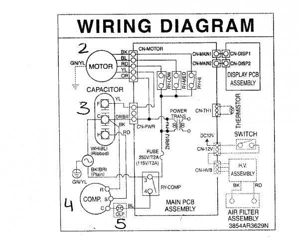🏆 diagram in pictures database hermetic compressor wiring