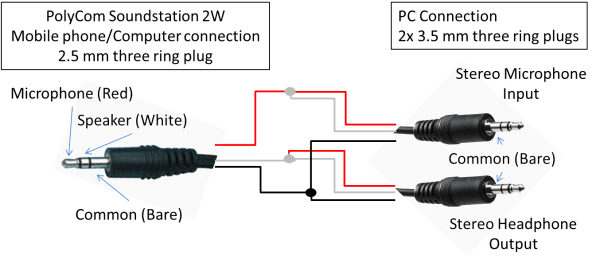 Mic Cable Wiring Diagram