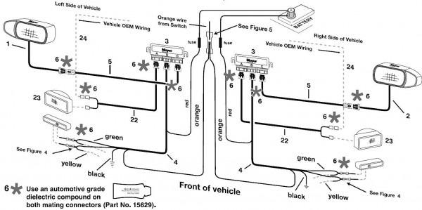 arctic snow plow wiring diagram