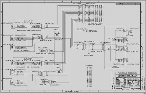 2012 Freightliner Wiring Diagram
