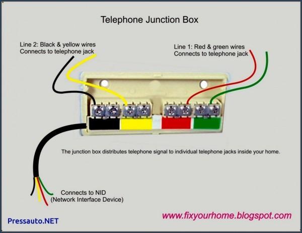 Comcast Phone Wiring Diagram