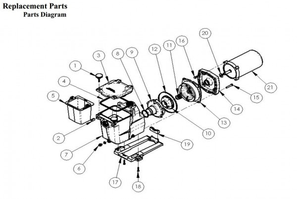 Sd Spa Pump Motor Wiring Diagram Motor Repalcement Parts And
