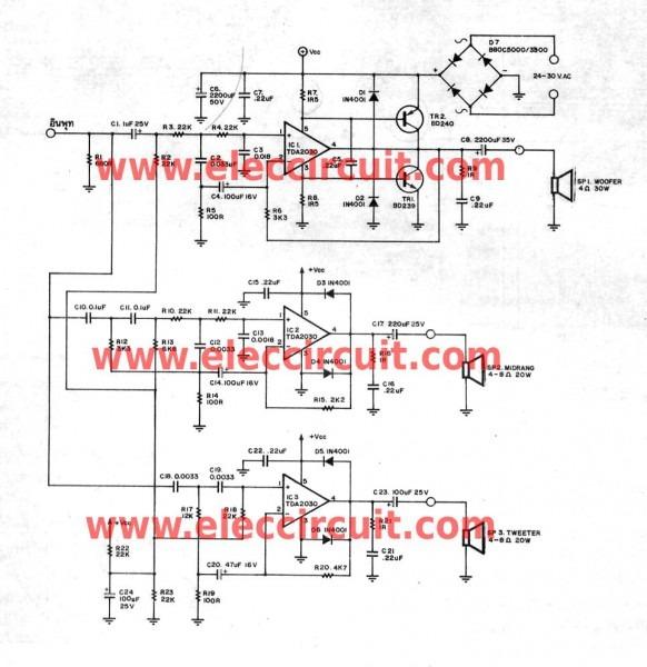 Free Audio Active Crossover Circuit Schematics Wallpapers