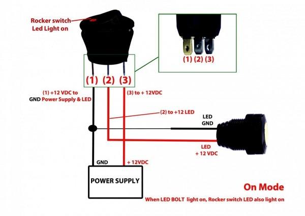12 Volt 3 Way Switch Diagram