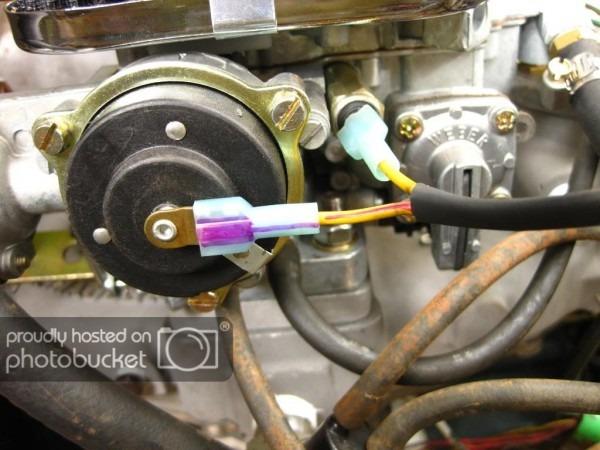 Weber 32 36 Electric Choke Wiring