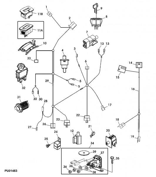 john deere l130 pto clutch wiring harness John Deere Wiring Diagram