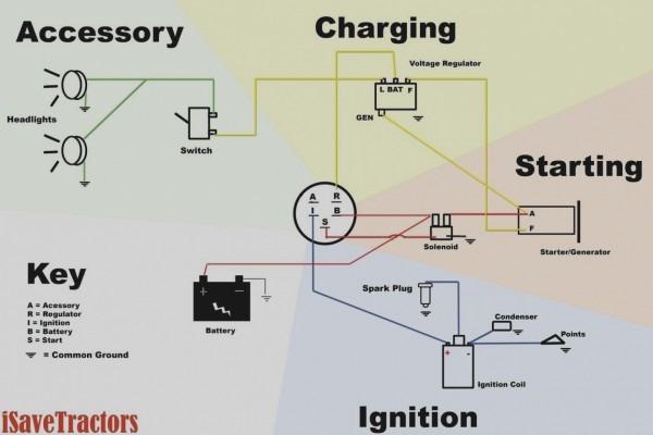 4 Wire Ignition Switch Diagram Atv