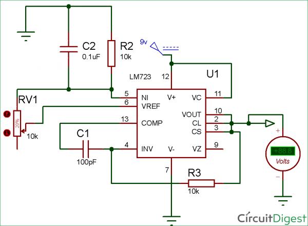 Circuit Diagram Voltage Regulator