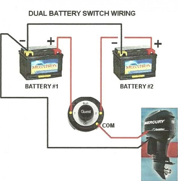 Wiring Boat Batteries Diagrams