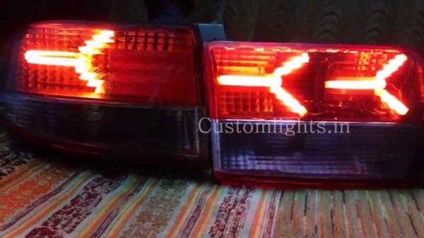 Honda Accord 2006 Lamborghini Style Tail Lamps By Customlights In