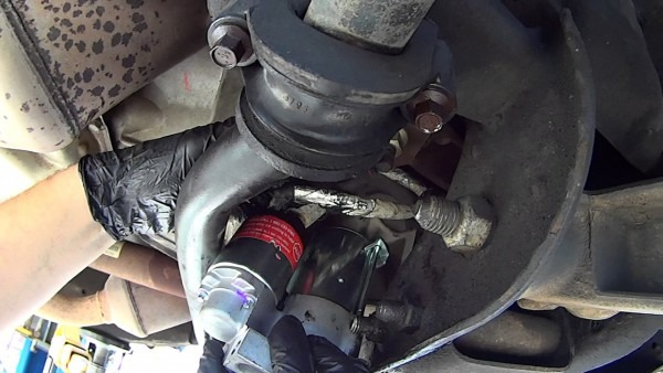 How To Replace Starter On Chevy Gmc Cadillac Trucks 2007