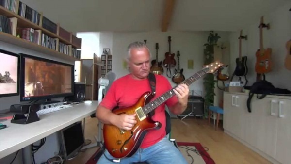 Prs Archtop Ii With Lindy Fralin  Pure Paf´s