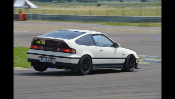 Fast!! Honda Crx Vtec On Track