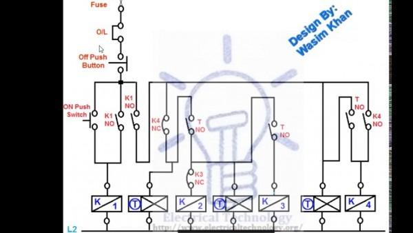 Rotor Resistance Starter Circuit Diagram