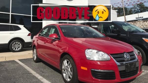 Goodbye Car! 2010 Volkswagen Jetta