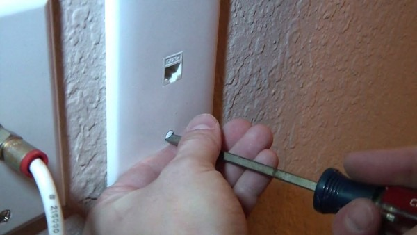 How To Install A Network Jack Into A Wall From The Attic