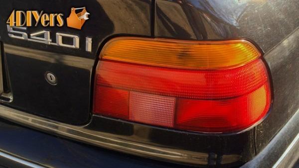 Diy  Bmw E39 Tail Light Bulb Replacement