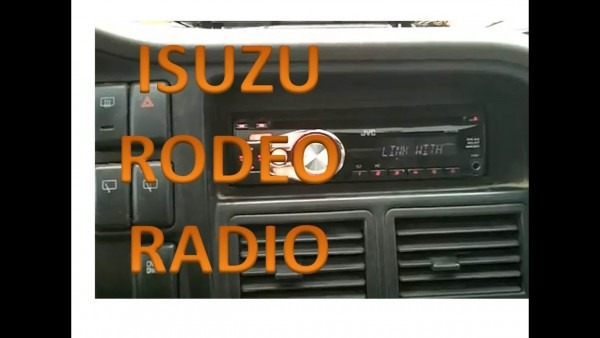 Isuzu Rodeo Radio Installation  U2013 Car Wiring Diagram