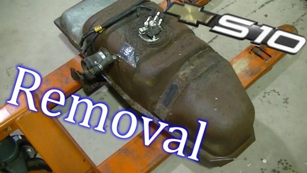 2001 S10 Fuel Tank Removal
