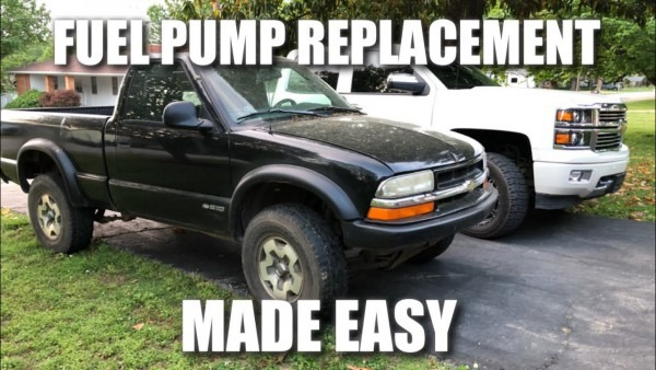 How To Replace Fuel Pump 1998