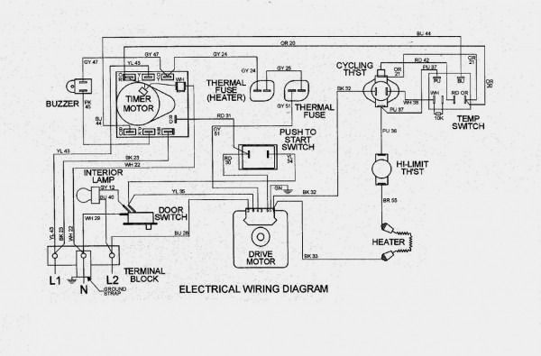 Maytag Centennial Dryer Wiring Diagram Awesome Power Cord