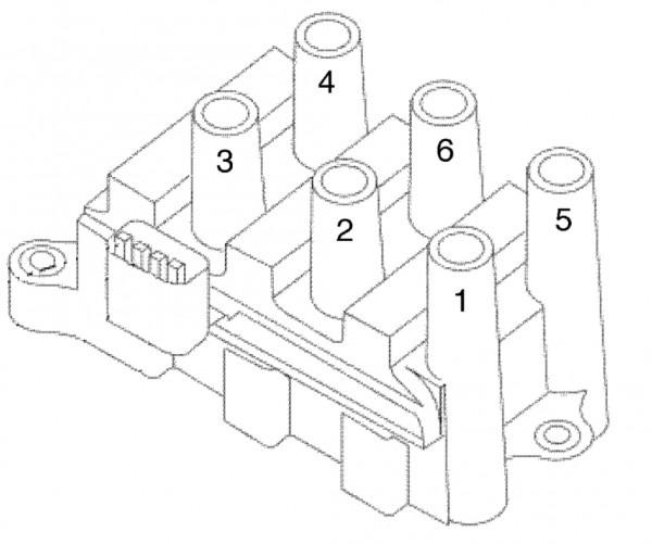 Firing Order  Engine Performance Problem Front Wheel Drive