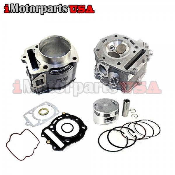 Top End Engine Cylinder Rebuild Kit W Piston For Honda Ch250 Helix