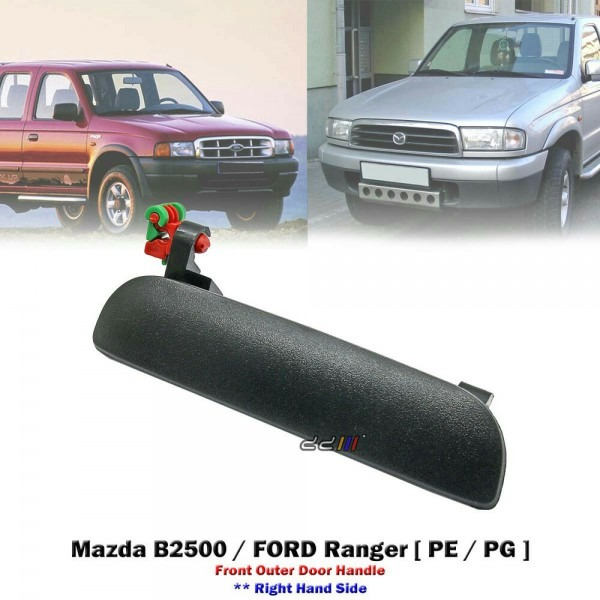 New Front Right Black Outer Door Handle For Mazda B2500 Ford