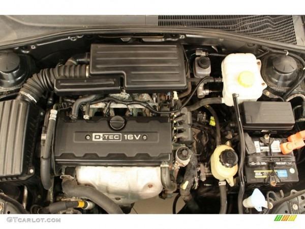 2005 Suzuki Forenza Engine