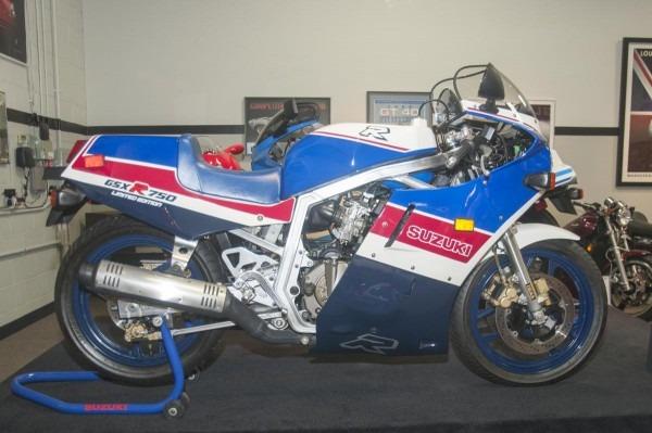 1986 Suzuki Gsxr 750 Limited Edition
