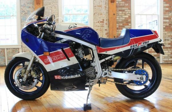 Impressive Donation – 1986 Suzuki Gsxr