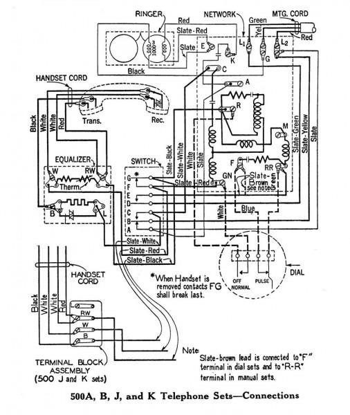 basic telephone wiring diagram