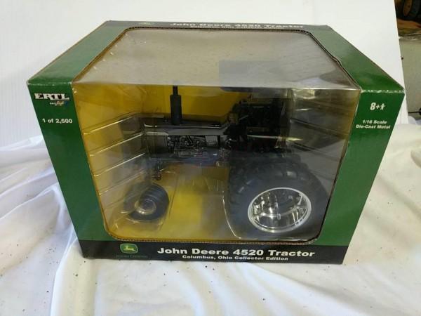 1 16 Gunmetal John Deere 4520 Tractor 1 Of 2500