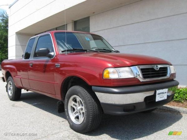 2000 Toreador Red Metallic Mazda B