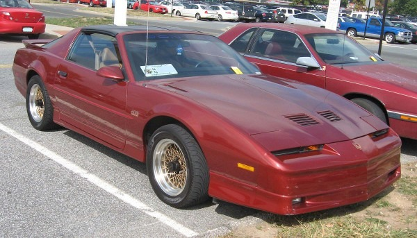 Pontiac Firebird (third Generation)