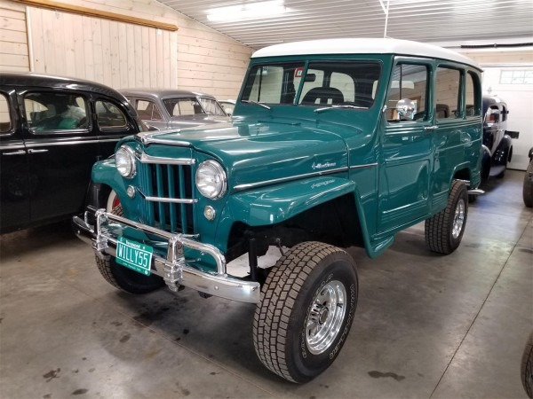 1955 Willys Jeep Wagon For Sale