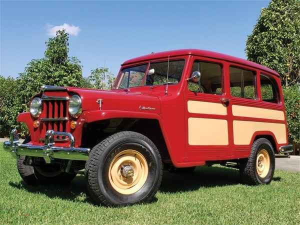 1955 Willys Wagon For Sale